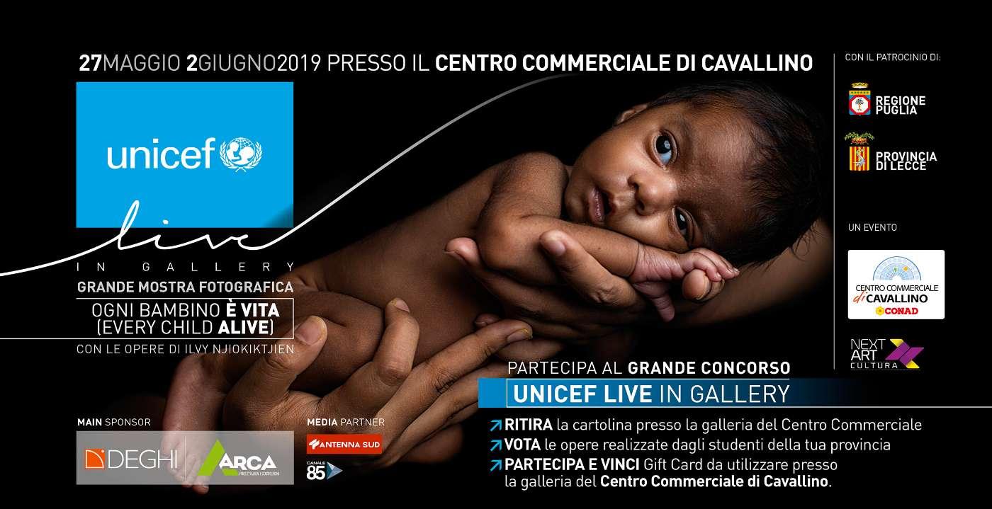 UNICEF LIVE in Gallery - Ogni Bambino è Vita (Every Child Alive)